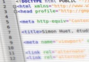 Site web simon-huet.fr