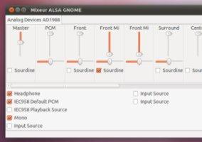 Configuration du son sous Ubuntu