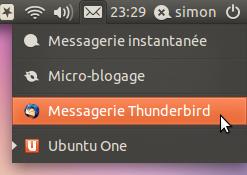 Messages indicators in Ubuntu 11.04